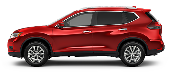 Photo of the Nissan Rogue SV Crossover vehicle.
