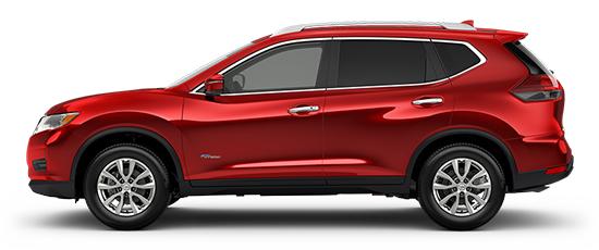 Photo of the Nissan Rogue SV Hybrid Crossover vehicle.