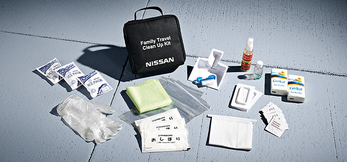 Family Travel Clean-up Kit