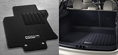 Carpeted Floor Mats and Cargo Mats (1-piece) with First-aid kit